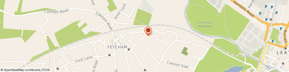 Route/map/directions to A.d.b Fetcham Taxis, KT22 9JL Fetcham, 40, Pound Crescent