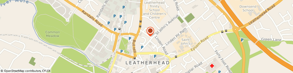 Route/map/directions to Sane Consultancy Limited, KT22 7HZ Leatherhead, THE OLD NURSERY, 6 PARK RISE