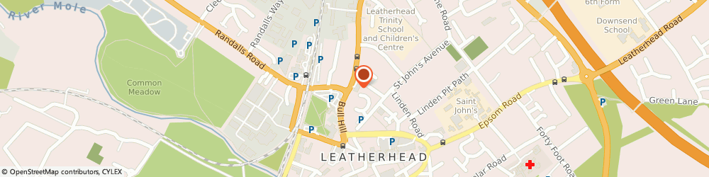 Route/map/directions to Wild Bean Cafe, KT22 7BL Leatherhead, 20 Kingston Road