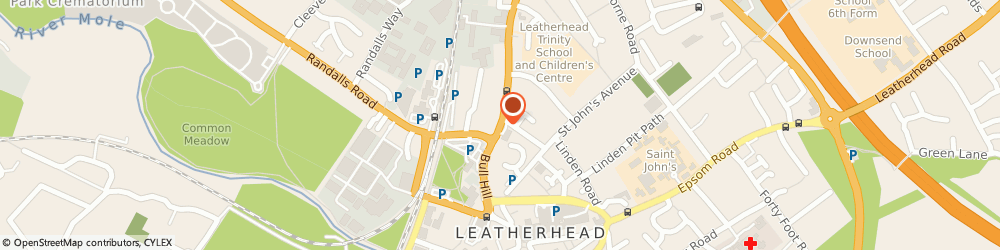 Route/map/directions to Day Lewis Leatherhead, KT22 7SR Leatherhead, Kingston Road