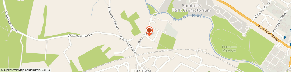 Route/map/directions to Total Property Service, KT22 9RN Fetcham, 5 Mole Road