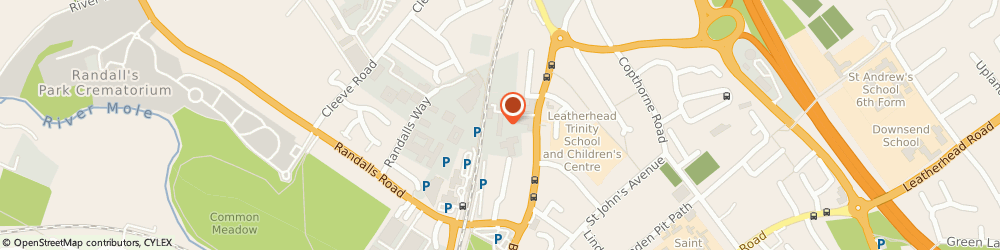 Route/map/directions to CEF City Electrical Factors, KT22 7UE Leatherhead, Bay Tree Avenue, Kingston Road