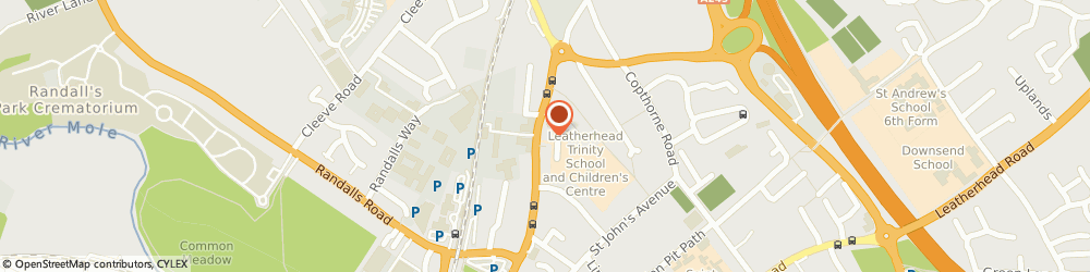 Route/map/directions to Leatherhead Taxis, KT22 7BW Leatherhead, 68 Kingston Rd
