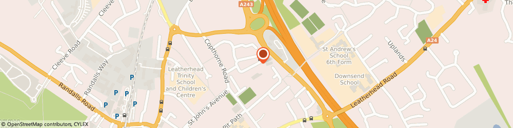 Route/map/directions to Advanced External Solutions, KT22 7EQ Leatherhead, 59 Levett Rd