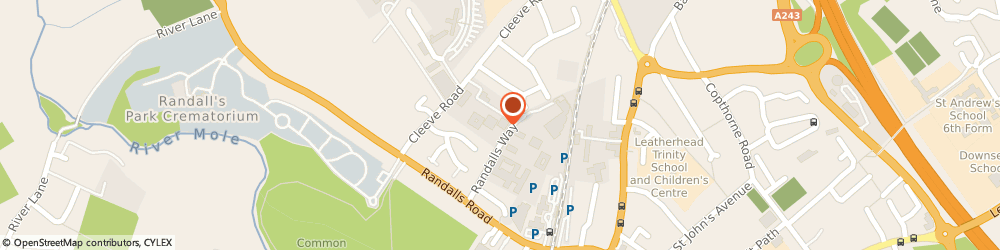 Route/map/directions to Datapharm, KT22 7TW Leatherhead, Ground Floor, Pascal Place, Randalls Way