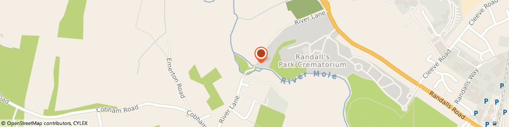 Route/map/directions to Amr Plumbing & Heating Limited, KT22 9RJ Fetcham, River Lane