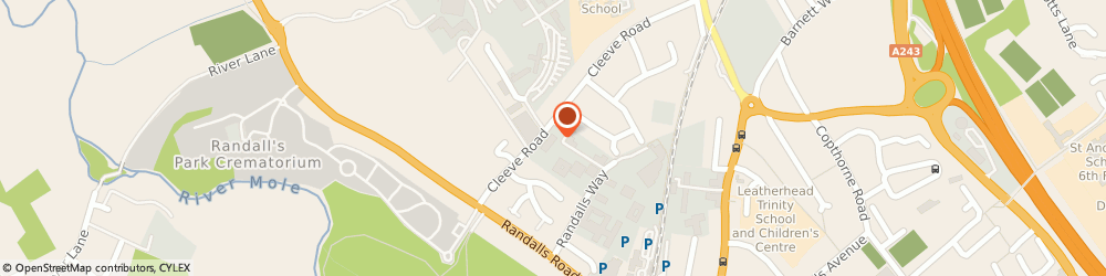 Route/map/directions to H.Sedgwick Limited, KT22 7UD Leatherhead, 1 Cleeve Court, Cleeve Road