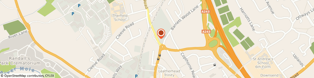 Route/map/directions to Dennys Ltd, KT22 7PU Leatherhead, 128 Kingston Rd