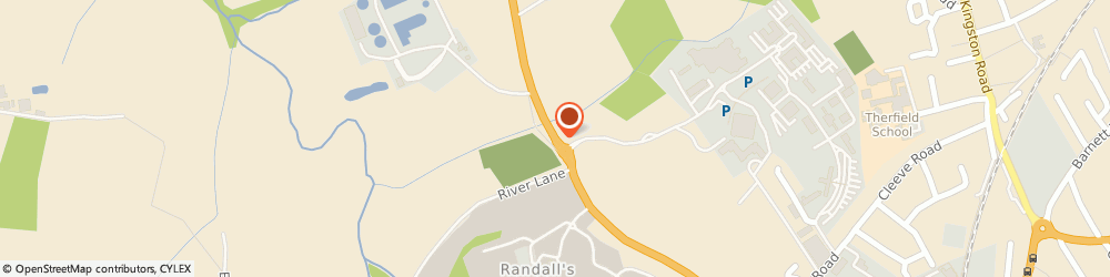 Route/map/directions to Mid Surrey School of Motoring, KT23 4HH Leatherhead, 52 Woodlands Road
