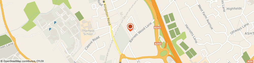 Route/map/directions to Pink Hippo Self Storage, KT22 7DG Leatherhead, 18A Barnett Close