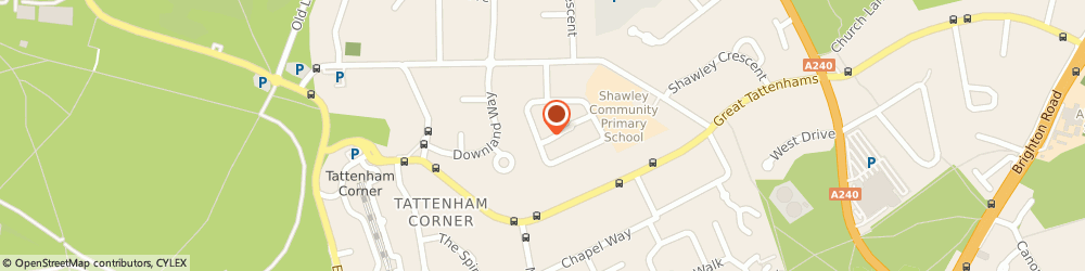 Route/map/directions to Infinite Roofing Ltd, KT18 5ST Epsom, 80 Upland Way