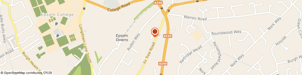 Route/map/directions to Tiger Building Services Limited, KT17 3LD Epsom, 2 Fir Tree Close