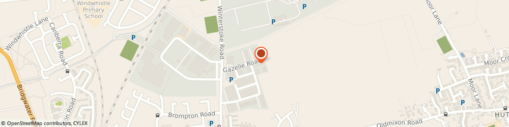 Route/map/directions to Climate Roofs Ltd, BS24 9ES Weston-Super-Mare, Unit 47, Gazelle Road
