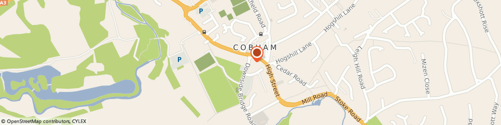 Route/map/directions to Accountlets Ltd, KT11 3EP Cobham, Suite C 3