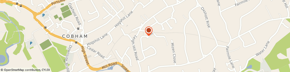 Route/map/directions to Jets Uk Ltd, KT11 2HP Cobham, 28 BRAMBLE RISE