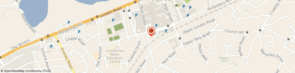 Route/map/directions to Majestic, GU15 3NY Camberley, 84-88 Park Street