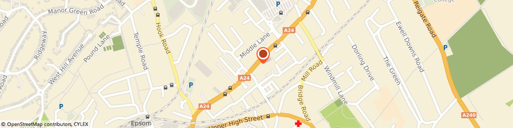 Route/map/directions to Entity Software Ltd., KT17 1DT Epsom, EPIC HOUSE 85 EAST STREET