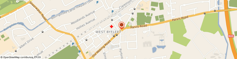 Route/map/directions to Curchods Estate Agents, KT14 6NE West Byfleet, 56 Station Approach