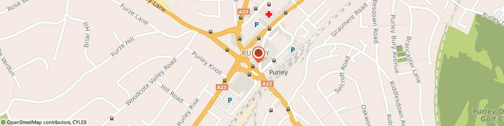 Route/map/directions to Bairstow Eves Estate Agents Purley, CR8 2HA Croydon, 2-3 The Exchange, Purley Road