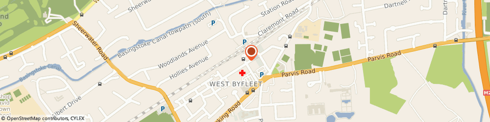 Route/map/directions to Belli Amico West Byfleet, KT14 6NF West Byfleet, 16 Station Approach