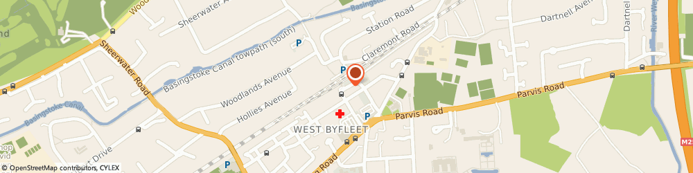 Route/map/directions to J L Butchers Ltd, KT14 6NF West Byfleet, 20 Station Approach