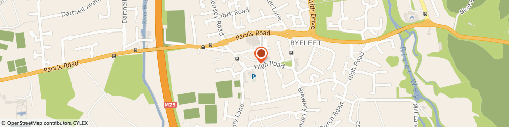 Route/map/directions to Sim Energy Limited, KT14 7PD Byfleet, 8 Royston Road
