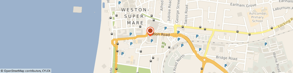 Route/map/directions to Weston-Super-Mare Police Station, BS23 1UU Weston-Super-Mare, Walliscote Road