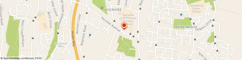 Route/map/directions to Master Alarms Ltd, ME8 0PX Gillingham, 163 Fairview Avenue