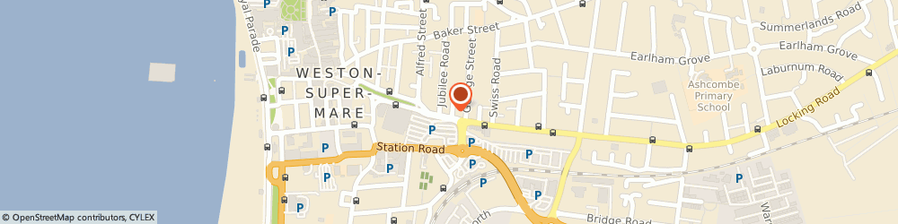 Route/map/directions to Weston motorcycles, BS23 3BY Weston-Super-Mare, 13-15 Locking Rd