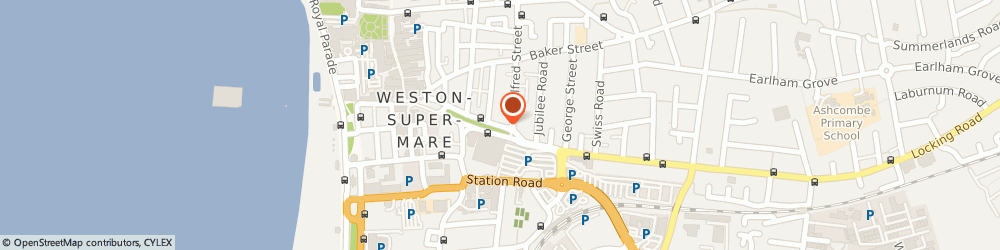 Route/map/directions to Ufopowerkites.Com, BS23 1QZ Weston-Super-Mare, 41 Alexandra Parade