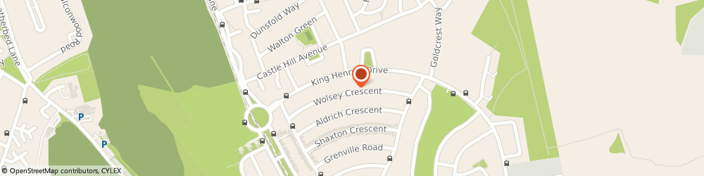 Route/map/directions to Griffiths & Son Fencing & Landscaping, CR0 0PJ Croydon, 71 Wolsey Cres