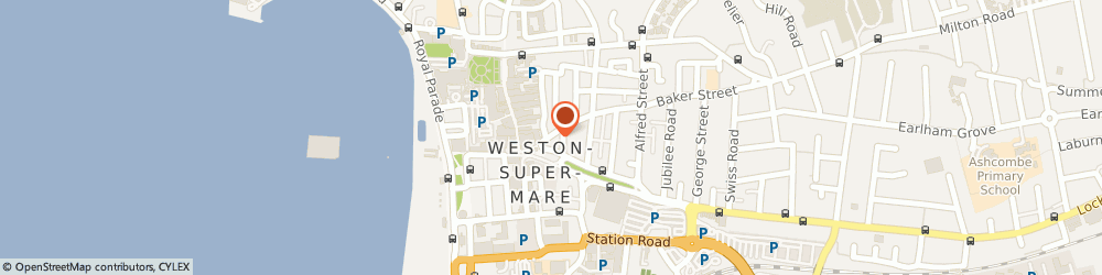 Route/map/directions to Solo, BS23 1QQ Weston-Super-Mare, 30 Meadow St