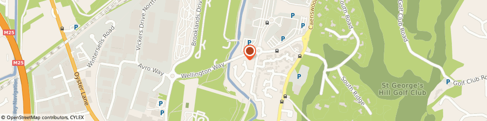 Route/map/directions to Motor-People Limited, KT13 0XL Weybridge, 1 MAYS CLOSE