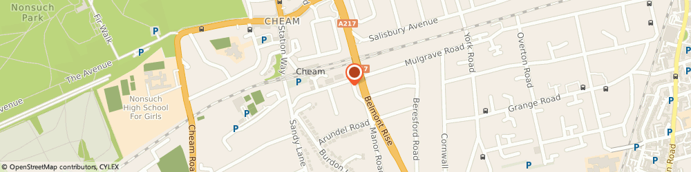 Route/map/directions to Post Office Limited, SM2 7AJ Sutton, 48 Upper Mulgrave Road