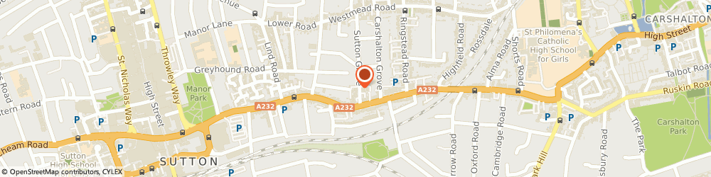 Route/map/directions to Watermark Financial Services Limited, SM1 4TG Sutton, FLAT 1 HOGARTH HOUSE, SUTTON GROVE