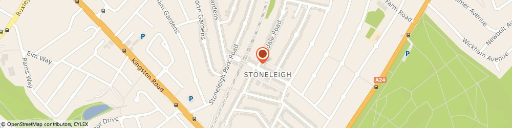 Route/map/directions to Quality Solicitors Brett Holt, KT17 2JA Epsom, 21 Stoneleigh Broadway