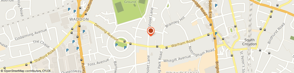 Route/map/directions to Low Cost Accountant, CR0 4HG Croydon, 86 Violet Lane