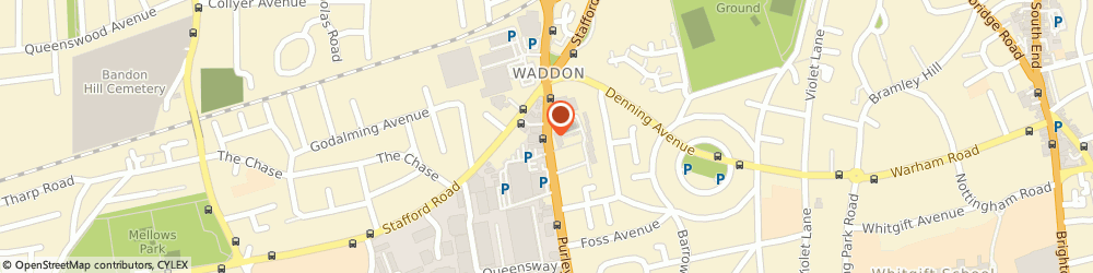 Route/map/directions to Croydon - Crown Decorating Centre, CR0 4RE Croydon, 520A Purley Way