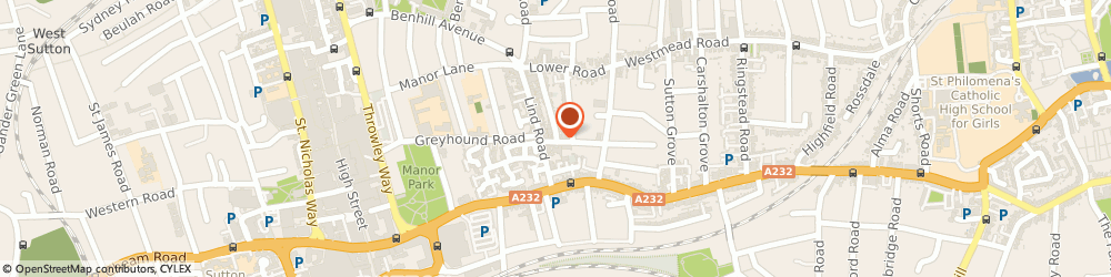 Route/map/directions to Chrisbook Care, SM1 4QL Sutton, 49 PALMERSTON ROAD