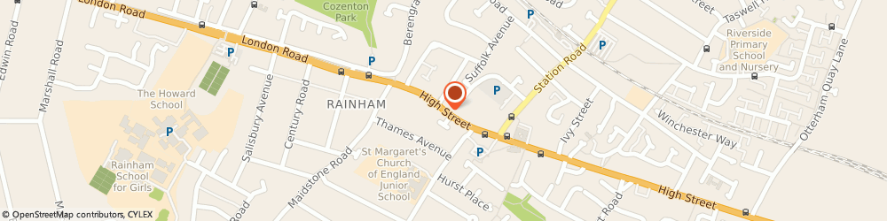 Route/map/directions to D & J Shoe Repairs, ME8 7HS Gillingham, 39-43 High St