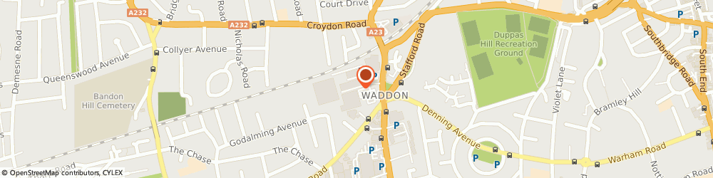 Route/map/directions to We Buy Any Car Croydon, CR0 4RZ Croydon, POD building on Car Park, Morrisons Superstore