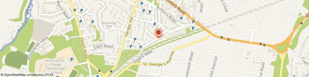 Route/map/directions to Checkrapid Limited, KT13 9AY Weybridge, 31 DANESWOOD CLOSE