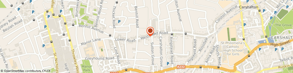 Route/map/directions to Purdome Ltd, SM1 4HY Sutton, 86 WESTMEAD ROAD