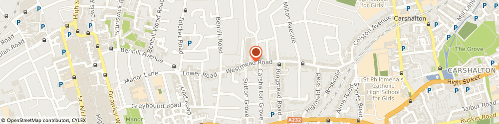 Route/map/directions to Cebtec Ltd, SM1 4JD Sutton, 107 Westmead Road