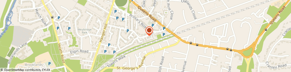 Route/map/directions to TIFFALLIN CONSULTING LIMITED, KT13 9BB Weybridge, 10 Angas Court Pine Grove