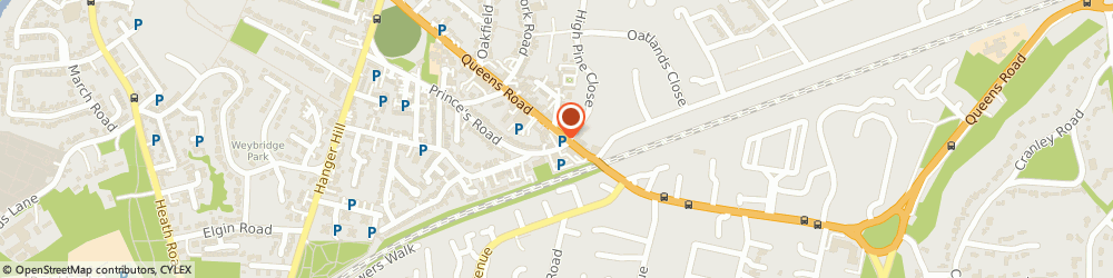 Route/map/directions to Mulberry Home Care Services, KT13 9UT Weybridge, Unit 22 Investment House 28