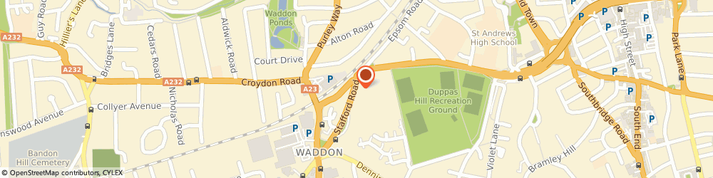 Route/map/directions to Plan Insurance, CR0 4NG Croydon, Orion House, 854 Brighton Road