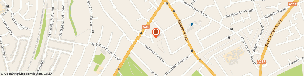Route/map/directions to Homefix PC Repairs, SM3 8JG Sutton, 19 The Spinney