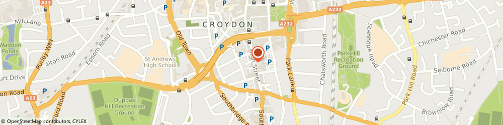Route/map/directions to JT Metalworks Ltd, CR9 1DF Croydon, 226 High St
