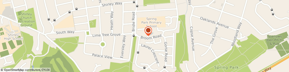 Route/map/directions to Broom Road Medical Practice, CR0 8NG Croydon, 23 Broom Rd